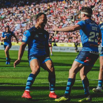 Saints win derby day