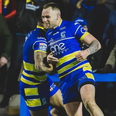 Warrington victorious against Wakefield