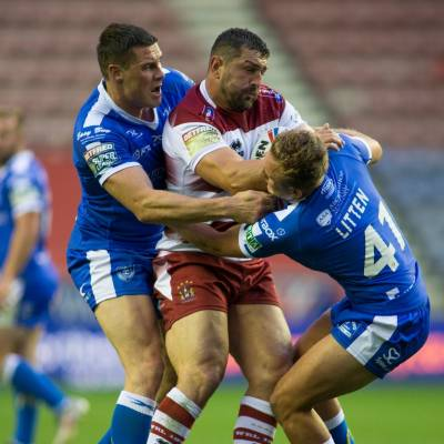 Wigan defeat Hull KR