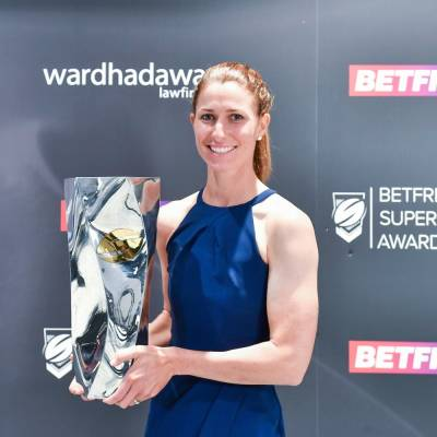 Courtney Hill crowned Woman of Steel